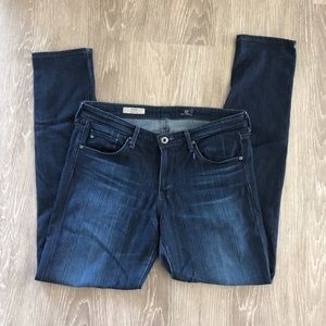 AG the Stilt Cigarette Leg Well Loved Jeans